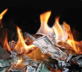 burning money Beggar Thy Neighbor Currency Devaluations Proved Ruinous For The Global Economy In The 1930s,  But The World Is Setting Off Down The Same Slippery Slope Again