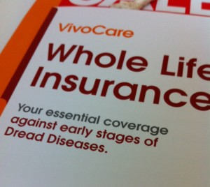 early stage critical illness whole life policy